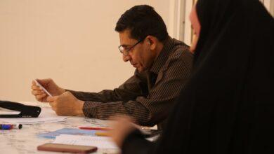 صورة استمرار درس مشاهدة تطبيق طلبة المراحل المنتهية وبحضور عميد الكلية الاستاذ الدكتور قاسم كاظم الأسدي