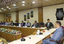 صورة مجلس الكلية يعقد جلسته السادسة بالمصادقة على قرارات علمية وطلابية وادارية ذات اولوية ..