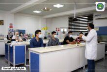 صورة استمرار المحاضرات الحضورية في كلية الرشيد الجامعة
