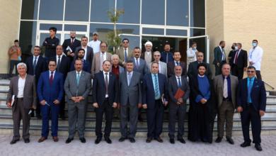 صورة زيارة وفد لجنة عمداء كليات العلوم الإسلامية والاقسام المناظرة في الجامعات العراقية الى جامعة الكفيل