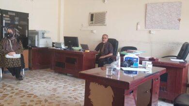 صورة مركز تطوير التدريس والتدريب الجامعي في جامعة القادسية يجري اختبار صلاحية التدريس