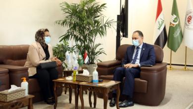 صورة زيارة رئيس لجنة عمداء كليات طب الأسنان في العراق لجامعة الكفيل