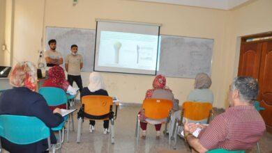 صورة كلية الهندسة في جامعة القادسية تناقش مشاريع التخرج لطلبة قسم الهندسة الميكانيكية