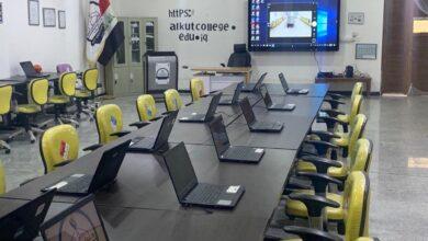 صورة تسمية المختبر الرقمي في الكوت الجامعةباسم عامر الأمير