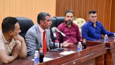 صورة قسم الإعلام والعلاقات العامة في جامعة القادسية ينظم ورشة عمل عن تطوير وتفعيل الإعلام الجامعي
