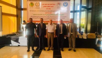 صورة الدكتور طالب زيدان الموسوي ،رئيس مجلس إدارة كلية الكوت الجامعة،، في ورشة عمل لتقييم تجربة التعليم الالكتروني في العراق
