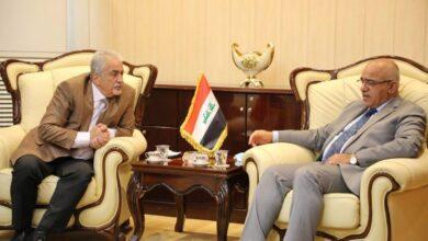 صورة وزير التعليم يستقبل رئيس جامعة عمان الأهلية ويتفقان على التعاون الأكاديمي وتبادل المنح الدراسية