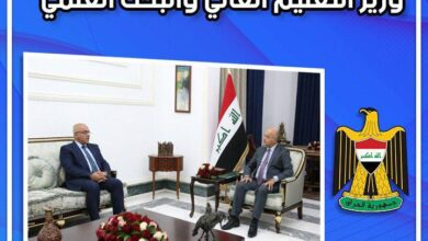 صورة وزير التعليم يستعرض مع رئيس الجمهورية الخطط الأكاديمية المستقبلية ومواجهة التحديات