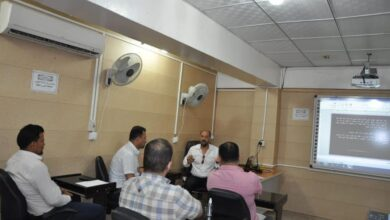صورة قسم الهندسة الكيمياوية في كلية الهندسة بجامعة القادسية يقيم ورشة علمية