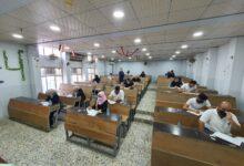صورة بدء الامتحانات النهائية للدور الأول 2020-2021 في كلية شط العرب الجامعة