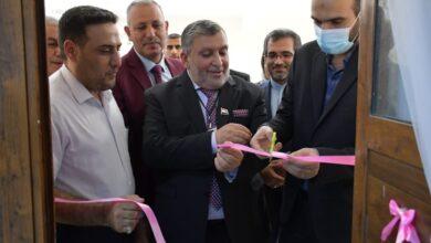 صورة افتتاح مختبر التحول الرقمي في الكوت الجامعة اليوم .