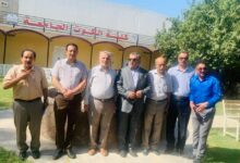 صورة رئيس مجلس إدارة الكوت الجامعة يحقق اجتماعا مع مشرفي وأساتذة أقسام الكلية في الصويرة اليوم .