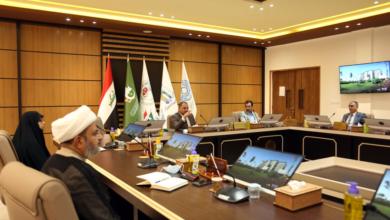 صورة انعقاد مجلس الجامعة في جلسته الاعتيادية