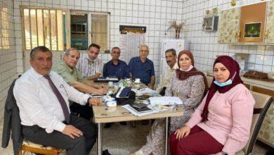صورة اجتماع جمعية الليزر العراقية