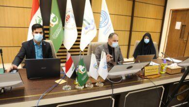 صورة رئيس جامعة الكفيل يتابع سير الامتحانات الالكترونية