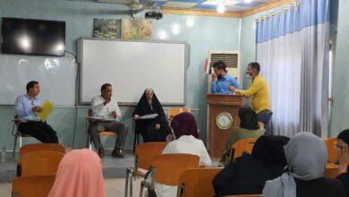 صورة كلية التقانات الاحيائية بجامعة القادسية تناقش بحوث تخرج طلبتها للعام الدراسي ٢٠٢٠/٢٠٢١