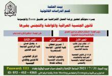 صورة ورشة عمل افتراضية بمشاركة السيد عميد كلية القانون _ جامعة القادسية