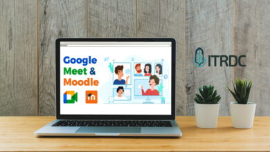 صورة إضافة خدمة الـ (Google Meet) الى منصة التعليم الالكتروني Moodle