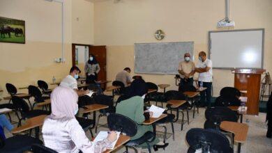 صورة انطلاق الامتحانات النهائية الالكترونية والحضورية للدراسات العليا والاولية في كلية الطب البيطري بجامعة القادسية