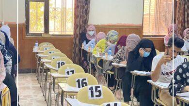 صورة كلية العلوم بجامعة القادسية تواصل اداء الامتحانات النهائية الحضورية والالكترونية
