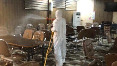 صورة جامعة القادسية تنفذ حملة شاملة لتعفير الاقسام الداخلية وتزويدها بأجهزة التبريد الحديثة
