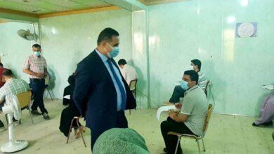 صورة كلية الآثار بجامعة القادسية تباشر اداء الامتحانات الحضورية لطلبة الدراسات العليا