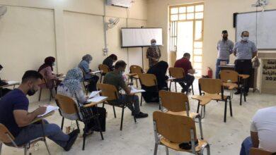 صورة تواصل الامتحانات النهائية الحضورية للدراسات الاولية في كلية الزراعة بجامعة القادسية