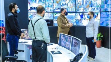 صورة رئيسُ جامعة العميد يتفقّد البناية الإدارية للإطلاع على سير الأعمال اليومية لموظفيها فضلاً عن مركز المراقبة الألكترونية للامتحانات الحضورية
