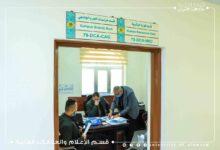 صورة السيد رئيس جامعة العميد يطّلع على سير أداء الأعمال اليومية للأقسام الإدارية في الجامعة