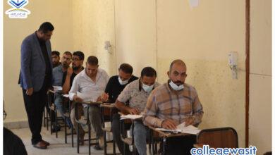 صورة وسط إجراءات صحية مشددة.. اقسام واسط تستضيف الامتحانات النهائية للاعداديات الإسلامية