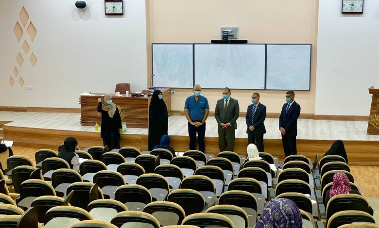 صورة الجولات التفقدية اليومية لسير الامتحانات النهائية