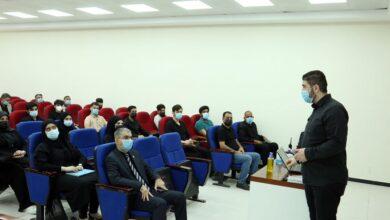 صورة شعبة التعليم المستمر في جامعة الكفيل تقيم دورة لتعليم الإسعافات الأولية