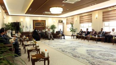 صورة رئيس جامعة الكفيل يجتمع مع عمداء الكليات