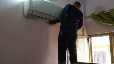 صورة قسم الاقسام الداخلية في جامعة القادسية يجهز عدداً من أبنية الطلبة باجهزة تكييف وتبريد حديثة