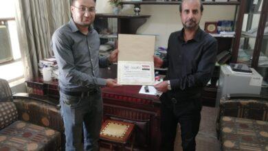 صورة اقسام واسط تهدي مكتبة جامعة واسط مجموعة كتب