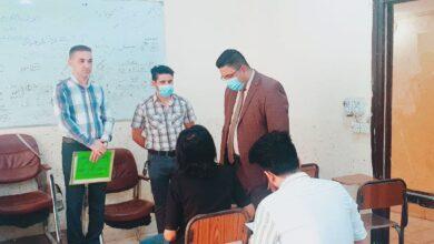 صورة اختتام الامتحانات النهائية الحضورية في كلية الامام الكاظم (ع) اقسام واسط