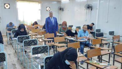 صورة كلية التربية بجامعة القادسية تباشر بأداء امتحانات الدور الثاني النهائية الحضورية للعام الدراسي 2020-2021