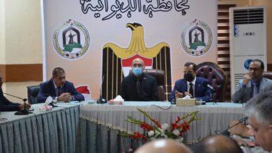 صورة رئيس جامعة القادسية يلتقي السيد رئيس اللجنة التنسيقية العليا ومستشار رئيس الوزراء لشؤون المحافظات