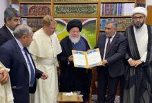 صورة استحداث مركز الدراسات الاسلامية – المسيحية في كلية الكوت الجامعة :