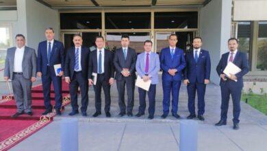 صورة عميد كلية القانون بجامعة القادسية يشارك بالجلسة الحوارية الخاصة بتشريع قوانين التكامل بين المؤسسات المنعقدة في مجلس النواب العراقي