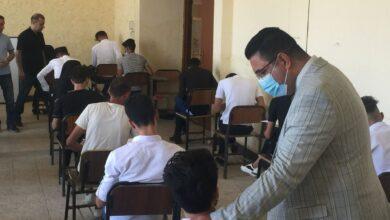 صورة انطلاق امتحانات الدور الثاني الحضورية لطلبة اقسام واسط