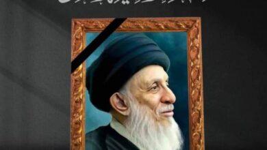 صورة وزير التعليم يعزي برحيل المرجع الديني الكبير السيد محمد سعيد الحكيم