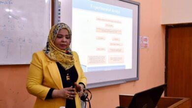 صورة كلية الطب البيطري بجامعة القادسية تناقش مشاريع بحوث طلبة الماجستير