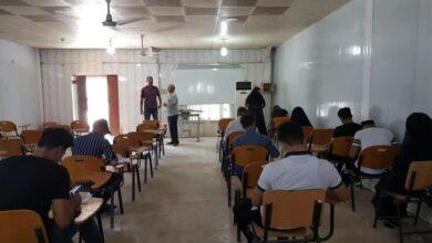 صورة كلية الزراعة بجامعة القادسية تؤدي امتحانات الدور الثاني النهائية حضورياً