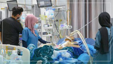 صورة جامعة العين تواصل التدريب الصيفي لطلبة قسم التخدير في كلية التقنيات الصحية والطبية