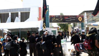 صورة موكب جامعة الكفيل يواصل تقديم خدماته للزائرين الكرام