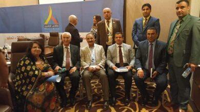 صورة عميد كلية القانون في جامعة القادسية الاستاذ الدكتور نظام جبار طالب يشارك في ملتقى الرافدين لعام ٢٠٢١ المنعقد في بغداد